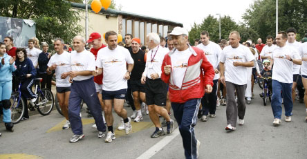 U rujnu, 10. jubilarna akcija Terry Fox Run